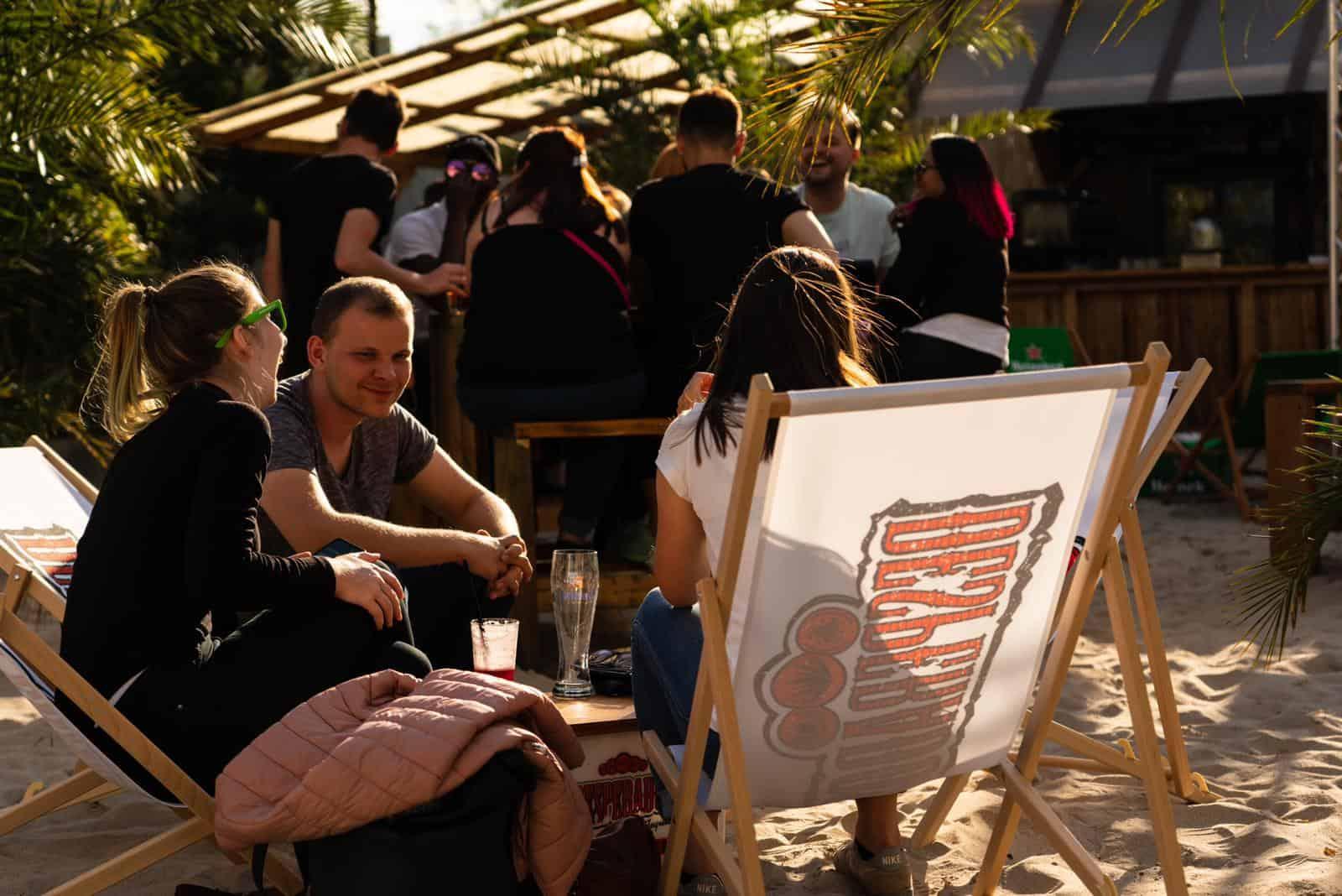 Meiers-Beach-Lahr Strandbar Gäste Eröffnung