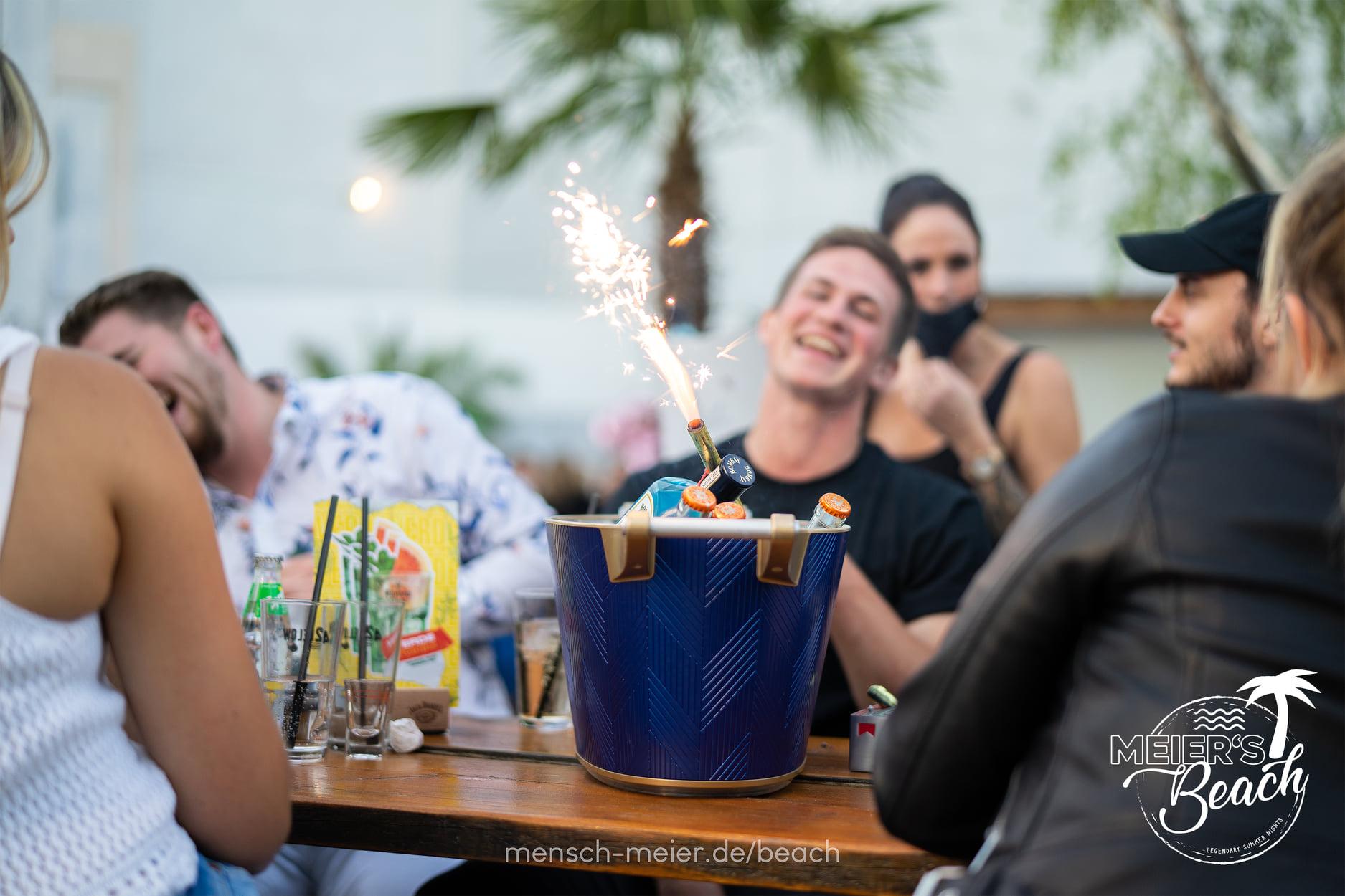 Strandbar Meier's Beach Foto Gäste 11.07.2020