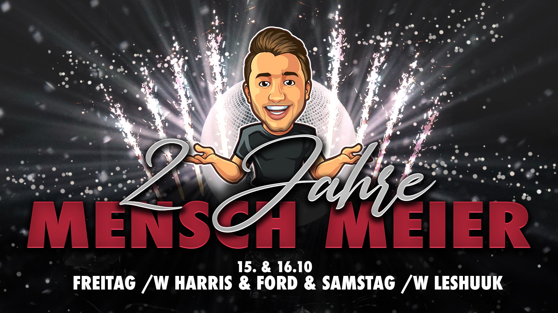 Meiers Jubiläum 2021 Harris and Ford Live